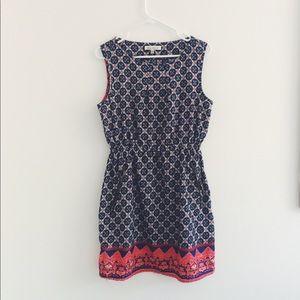 speed control dress with zipper pockets
